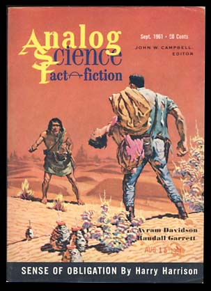 Analog Science Fact & Fiction September 1961. John W. Campbell, ed, Jr