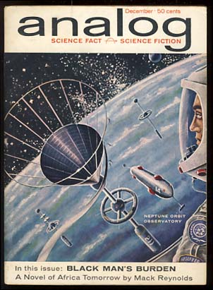 Analog Science Fact & Fiction December 1961. John W. Campbell, ed, Jr