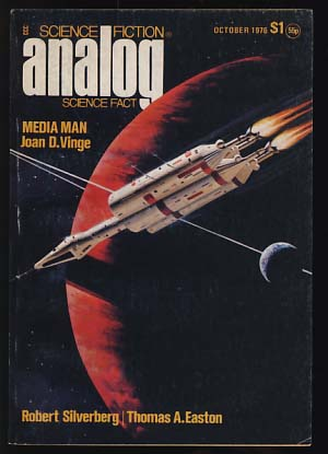 Analog Science Fiction/Science Fact October 1976. Ben Bova, ed.