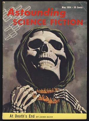 Astounding Science Fiction May 1954. John W. Campbell, ed, Jr