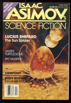 Isaac Asimov's Science Fiction Magazine April 1987. Gardner Dozois, ed