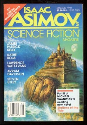 Isaac Asimov's Science Fiction Magazine January 1991. Gardner Dozois, ed