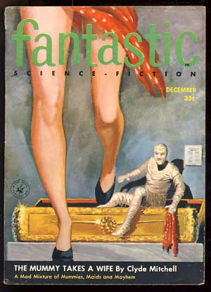 Fantastic December 1956. Paul W. Fairman, ed