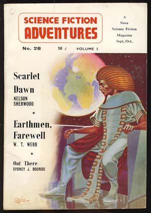 Science Fiction Adventures No. 28 September/October 1962. John Carnell, ed