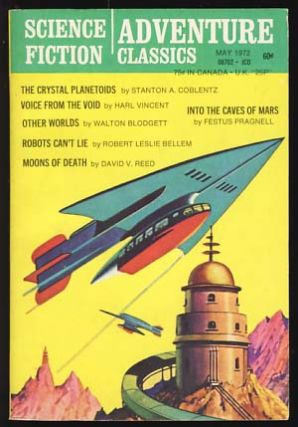 Science Fiction Adventure Classics May 1972. Sol Cohen, ed