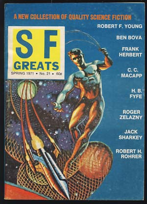 Science Fiction Greats Spring 1971. Sol Cohen, ed