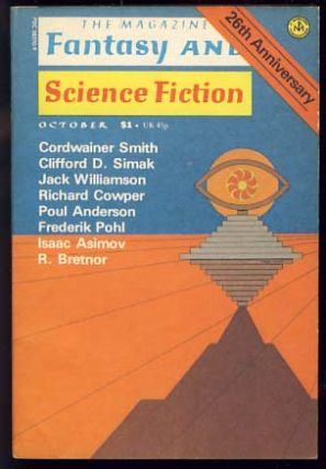The Magazine of Fantasy and Science Fiction October 1975. Edward L. Ferman, ed