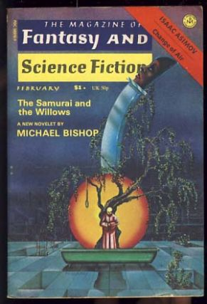 The Magazine of Fantasy and Science Fiction February 1976. Edward L. Ferman, ed