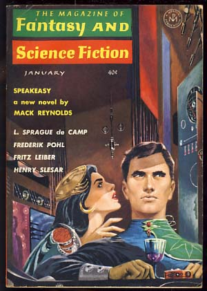 The Magazine of Fantasy and Science Fiction January 1963. Edward L. Ferman, ed