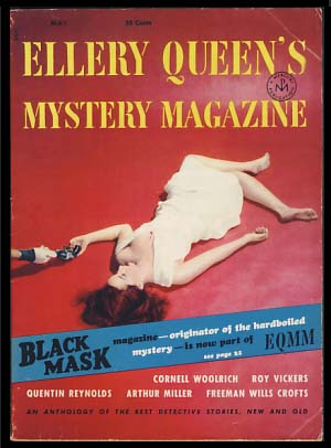 The Gatewood Caper in Ellery Queen's Mystery Magazine May 1953. Dashiell Hammett