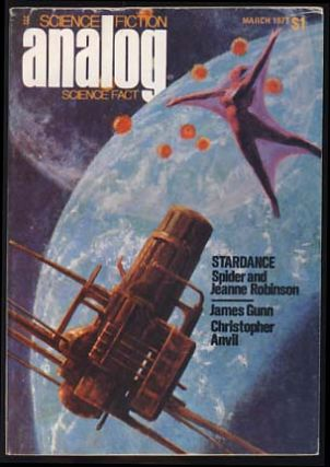 Analog Science Fiction Science Fact March 1977. Ben Bova, ed