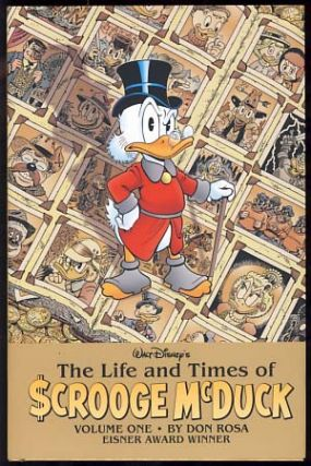 The Life and Times of Scrooge McDuck Volume One and Volume Two. (Signed and with Original Art by...