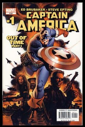 Captain America No. 1. Ed Brubaker, Steve Epting