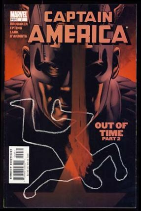 Captain America No. 2. Ed Brubaker, Steve Epting