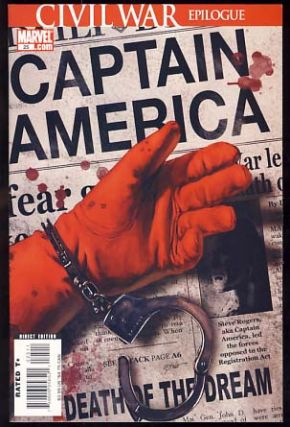 Captain America No. 25. Ed Brubaker, Steve Epting