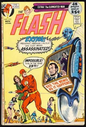 The Flash #210. Cary Bates, Irv Novick