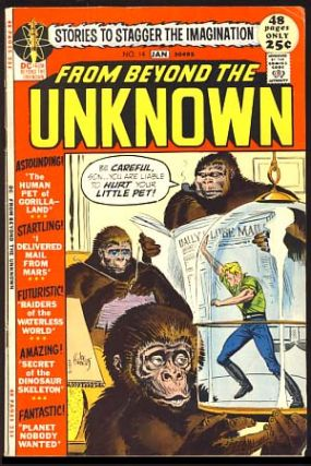 From Beyond the Unknown #14. John Broome, Carmine Infantino, Gil Kane, Murphy Anderson