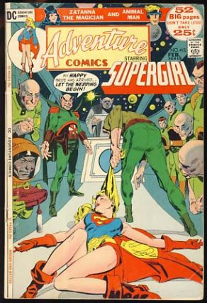 Adventure Comics #415. John Albano, Win Mortimer.