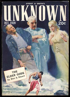 Unknown October 1939. John W. Campbell, ed, Jr