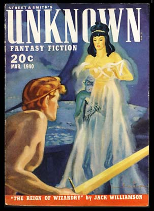 Unknown March 1940. John W. Campbell, ed, Jr