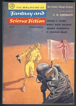 The Magazine of Fantasy and Science Fiction January 1956. Anthony Boucher, ed