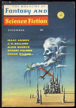 The Magazine of Fantasy and Science Fiction December 1967. Edward L. Ferman, ed