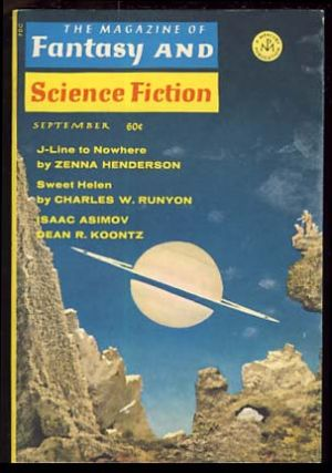 The Magazine of Fantasy and Science Fiction September 1969. Edward L. Ferman, ed.