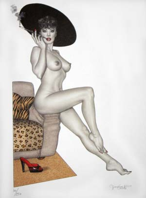 Pin-ups #3 - Limited and numbered edition print. Giovanna Casotto.