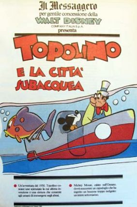 Topolino (Mickey Mouse) - Four Volume Set
