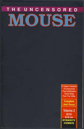 The Uncensored Mouse 1 and 2. Floyd Gottfredson