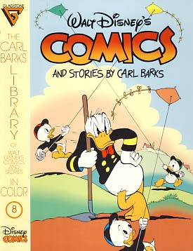 The Carl Barks Library of Walt Disney's Comics and Stories in Color No. 8. Carl Barks