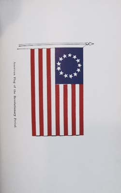 The Evolution of the American Flag. From Materials Collected by the Late George Canby.