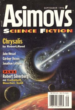 Isaac Asimov's Science Fiction Magazine September 1996. Sheila Williams, ed