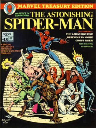 Marvel Treasury Edition #18: The Astonishing Spider-Man. Gerry Conway, Gil Kane, Ross Andru