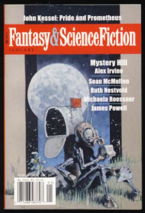 The Magazine of Fantasy & Science Fiction January 2008. Gordon Van Gelder, ed