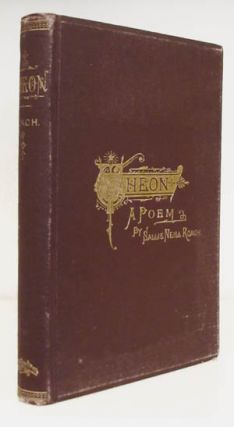 Theon. A Tale of the American Civil War. Sallie Neill Roach