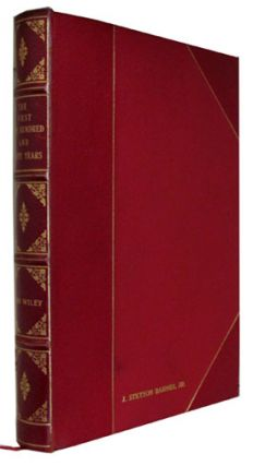 The First One Hundred and Fifty Years: A History of John Wiley and Sons, Incorporated, 1807-1957