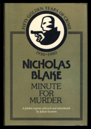 Minute for Murder. Nicholas Blake, Cecil Day-Lewis