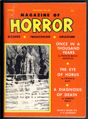 Magazine of Horror #24 November 1968. Robert A. W. Lowndes, ed
