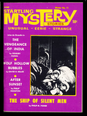 Startling Mystery Stories #11 Winter 1968/69. Robert A. W. Lowndes, ed.