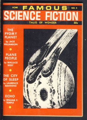 Famous Science Fiction #5 Winter 1967/68. Robert A. W. Lowndes, ed
