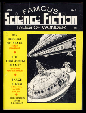 Famous Science Fiction #9 Spring 1969. Robert A. W. Lowndes, ed