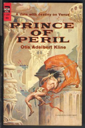 Prince of Peril. Otis Adelbert Kline