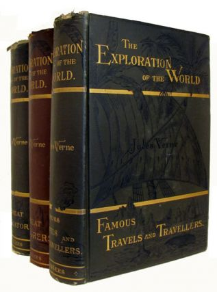 The Exploration of the World. Three Volume Set. Jules Verne.