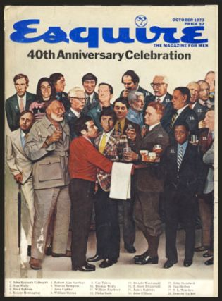 Esquire October 1973 - 40th Anniversary Celebration. Don Erickson, ed