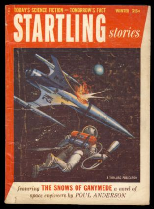 Startling Stories Winter 1955. Alexander Samalman, ed