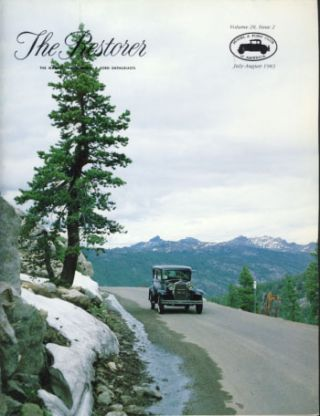 The Restorer (Model A Ford Club of America) 1983 Full Run. Phil. ed Allin.