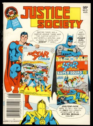 DC Special Blue Ribbon Digest No. 3 - The Justice Society. Gerry Conway, Eric Estrada