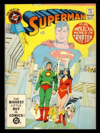 The Best of DC No. 40 - World of Krypton. Cary Bates, Gray Morrow