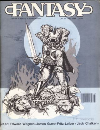 Fantasy Review #69 July 1984. Robert A. Collins, ed